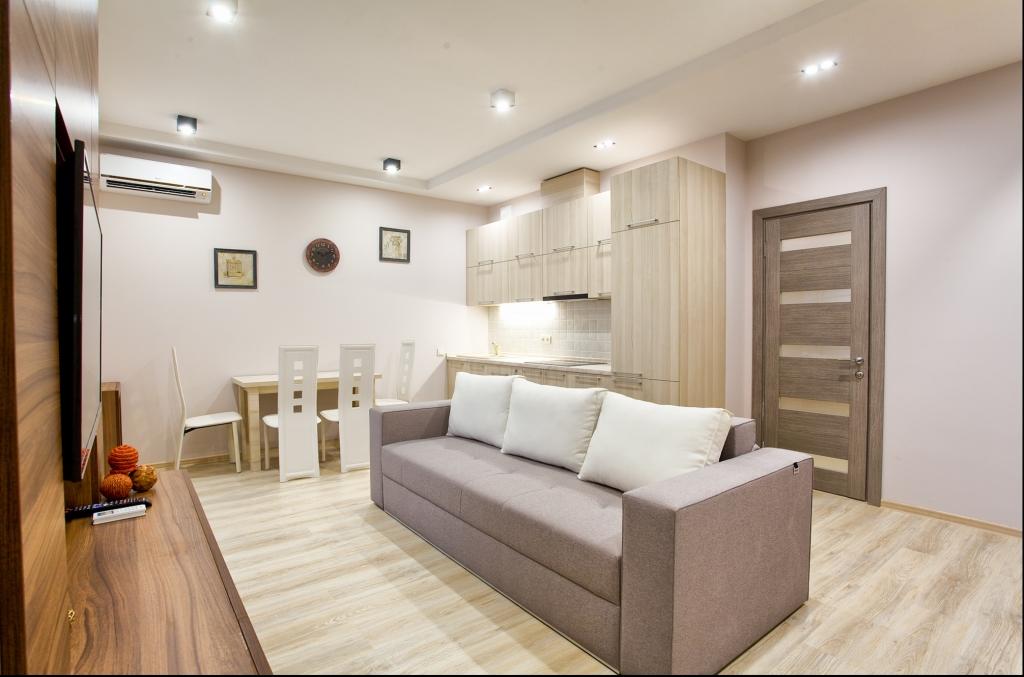 Ремонт однокомнатной квартиры 40 кв.м в новостройке своими руками